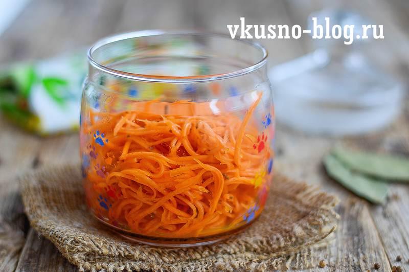 Морковь по-корейски быстрый рецепт