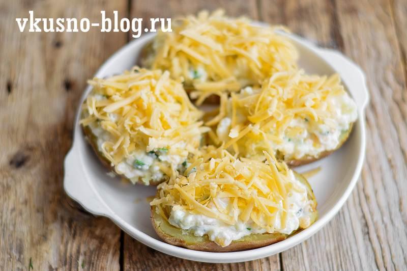 Запеченная картошка с начинкой