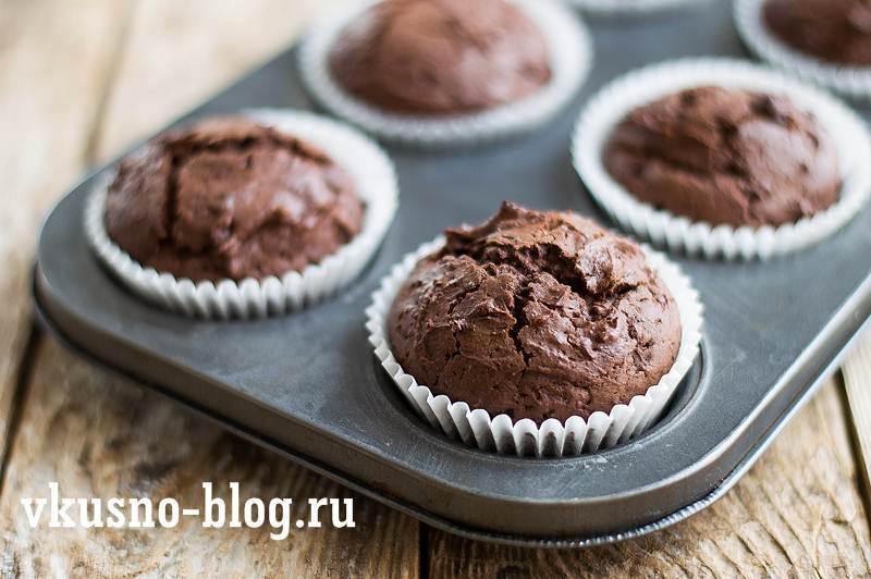 Шоколадные маффины рецепт пошагово