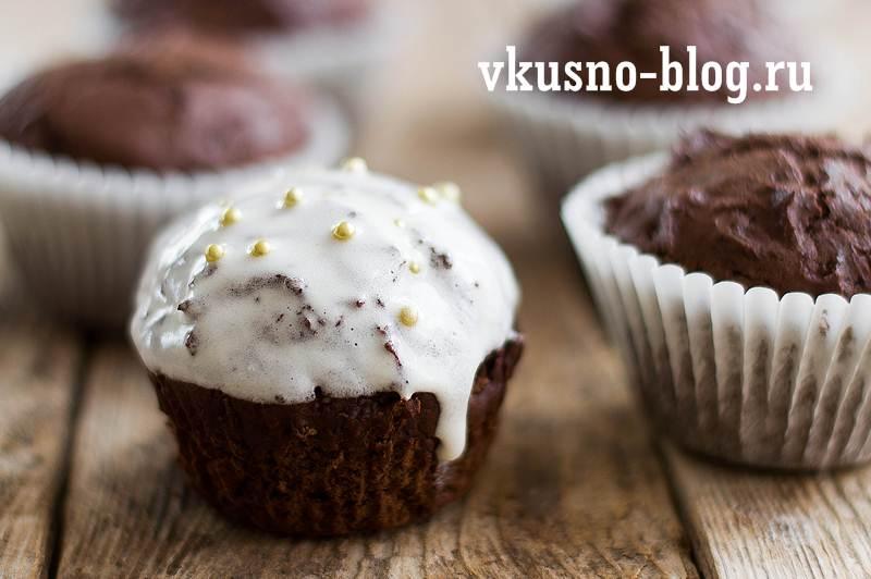 Шоколадные маффины рецепт с фото пошагово