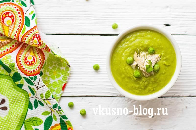 Суп из зеленого горошка рецепт фото