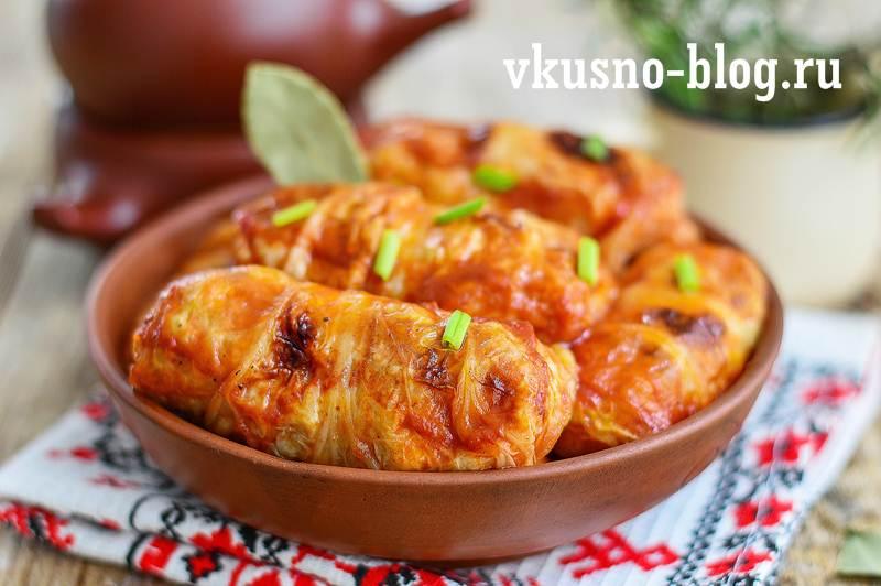Голубцы из пекинской капусты в духовке