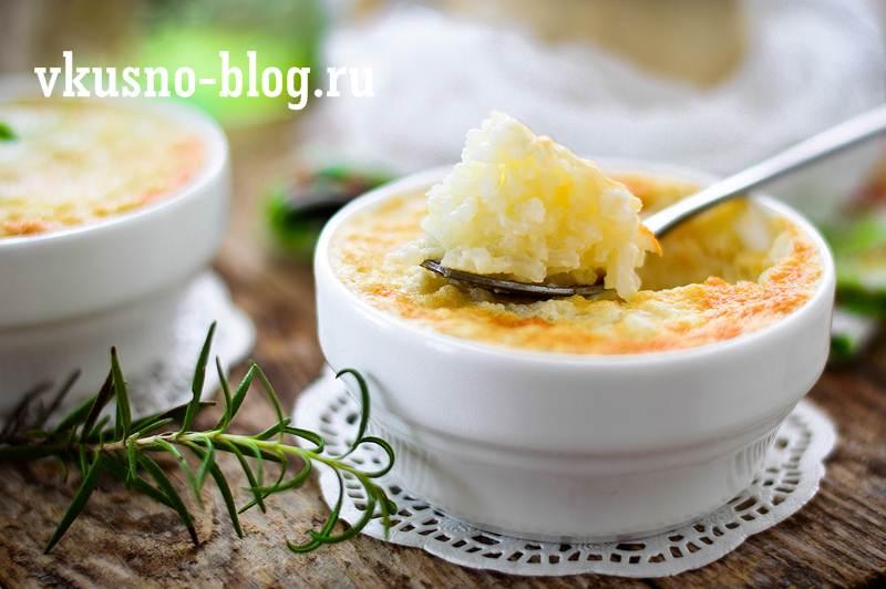 Рисовый пудинг рецепт с фото