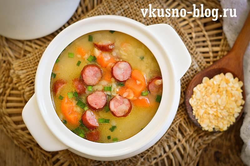Суп из гороховых хлопьев рецепт