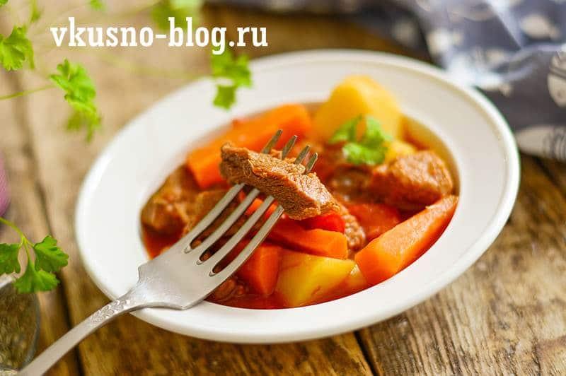 Венгерский суп-гуляш