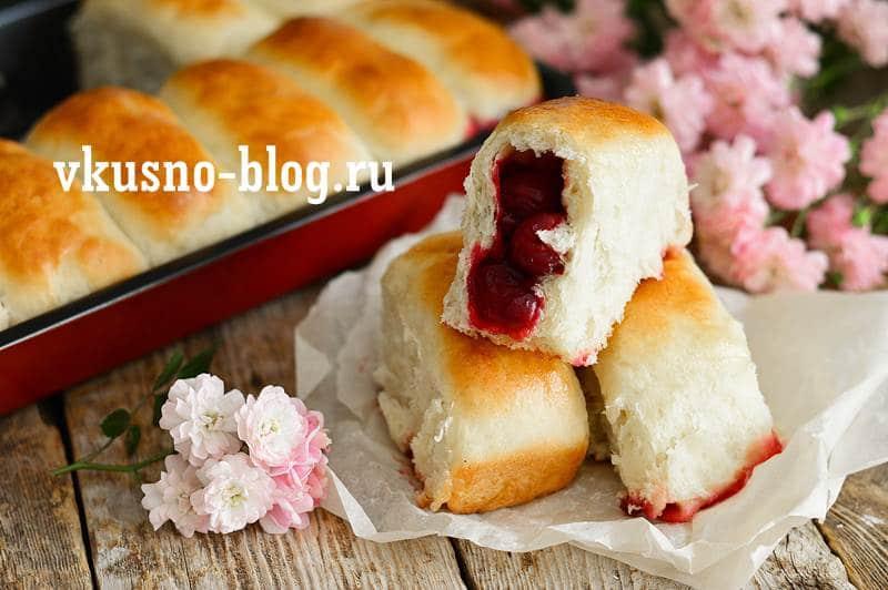 Пирожки с вишней духовые рецепт