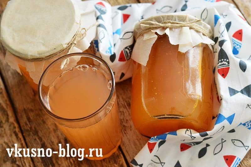 Сок морковно-яблочный на зиму