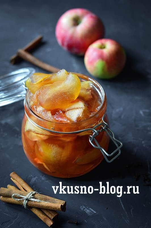 Яблочное варенье дольками на зиму