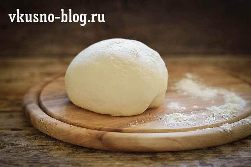 Рецепт заварного теста для вареников и пельменей