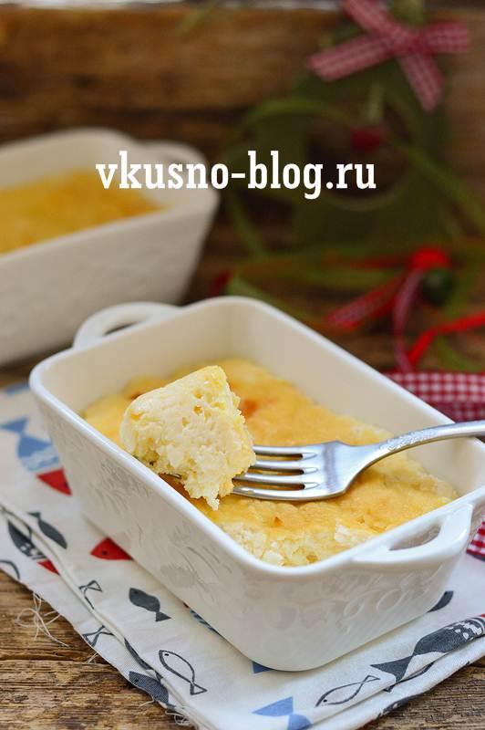 Творожная запеканка в духовке рецепт пошагово
