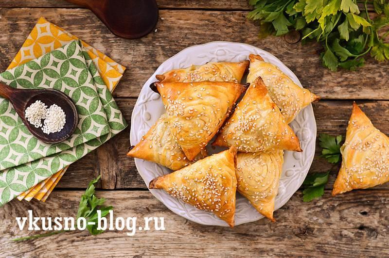 Самса с курицей рецепт с фото