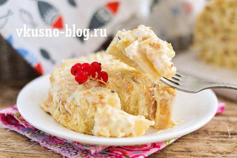 Торт Полено слоеный рецепт