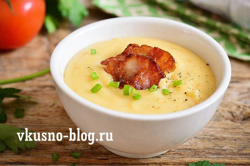 Картофельный крем-суп суп-пюре
