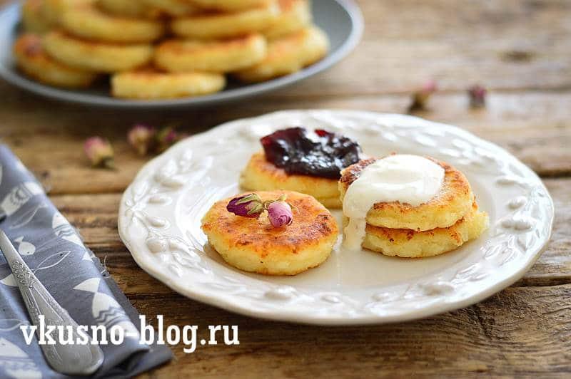 Сырники с манкой пошаговый рецепт