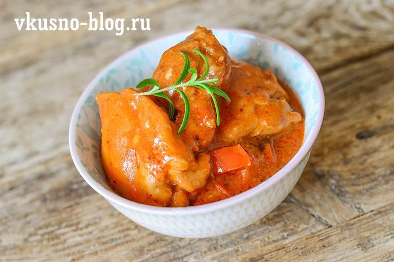 Паприкаш из курицы как приготовить