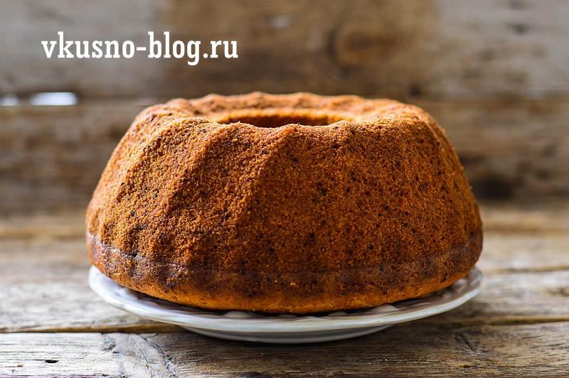 Морковный пирог на подсолнечном масле