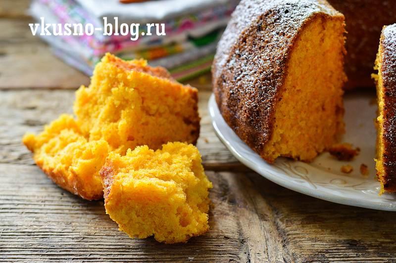 Морковный пирог пошагово с фото