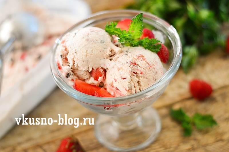 домашнее мороженое из сметаны