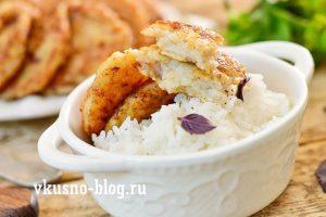 Рыбные котлеты из пангасиуса