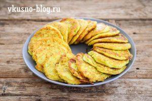 Рецепт вкусных оладушек из кабачков