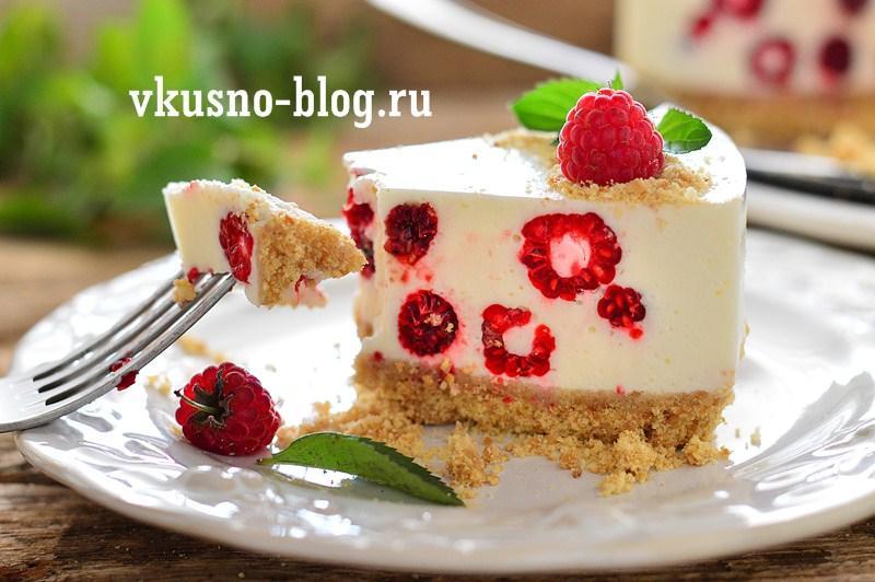 Торт без выпечки с печеньем, сметанный торт с желе - пошаговый рецепт с фото