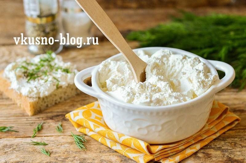 Творог из замороженного кефира рецепт
