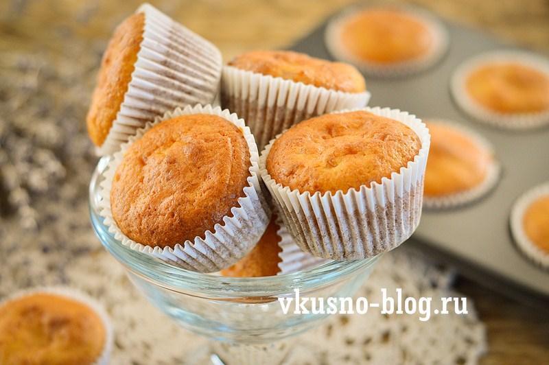 Апельсиновые маффины рецепт