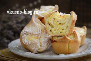 """Пирожное """"Соффиони"""" с творогом. Простой и бюджетный рецепт десерта"""