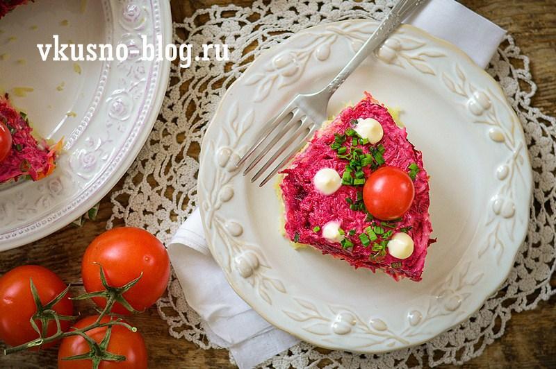 Торт селедка под шубой рецепт