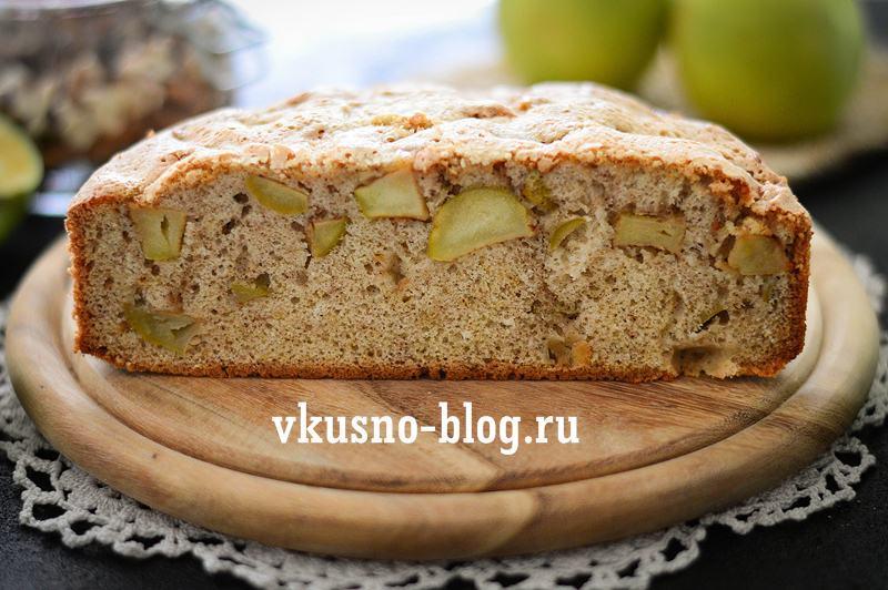 Рецепт шарлотки с яблоками и корицей