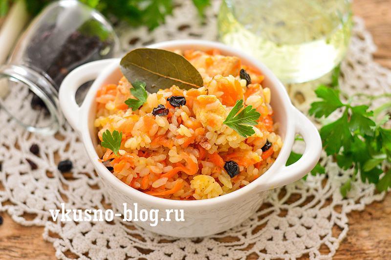 Рис с курицей и барбарисом