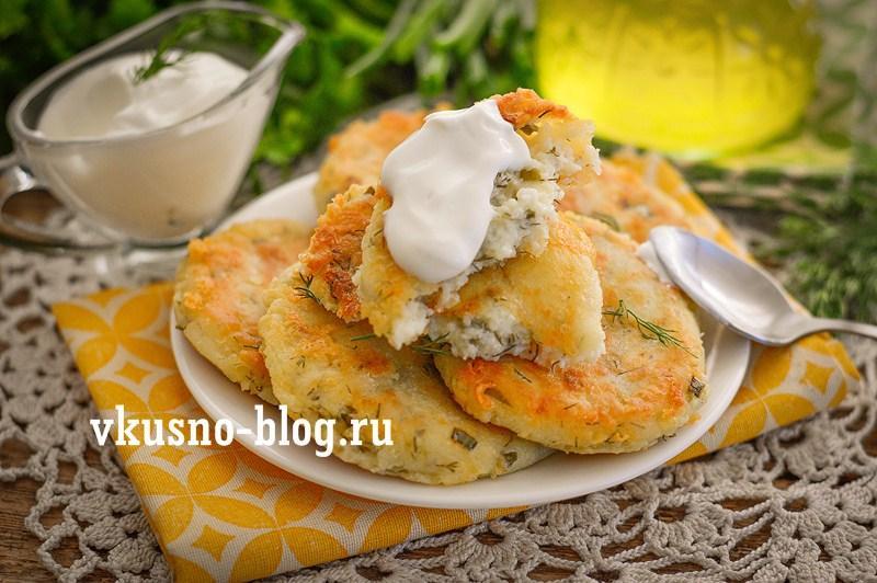 Несладкие сырники с сыром