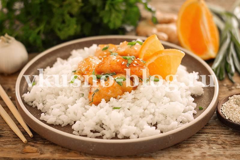 Курица в апельсиновом соусе - пошаговый рецепт с фото