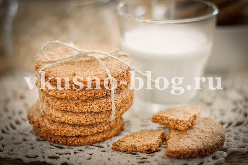 Оасяное печенье ПП рецепт