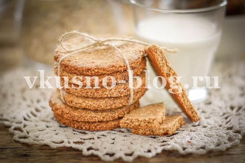 Домашнее овсяное печенье без муки и яиц - пошаговый рецепт с фото