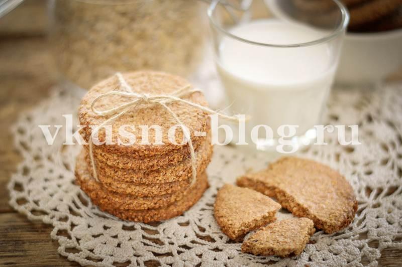 Овсяное печенье в домашних условиях пп рецепт