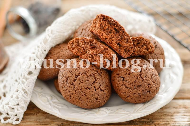 Простое шоколадное печенье - рецепт
