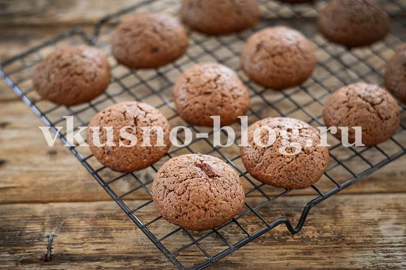 Шоколадное печенье - рецепт с фото