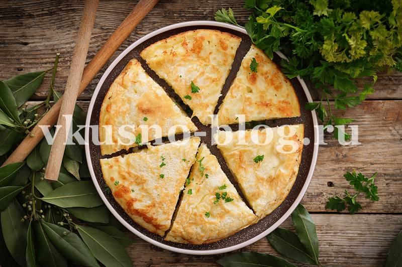 Ленивый хачапури на сковороде рецепт
