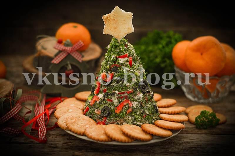 Салат Елочка на Новый год рецепт пошагово
