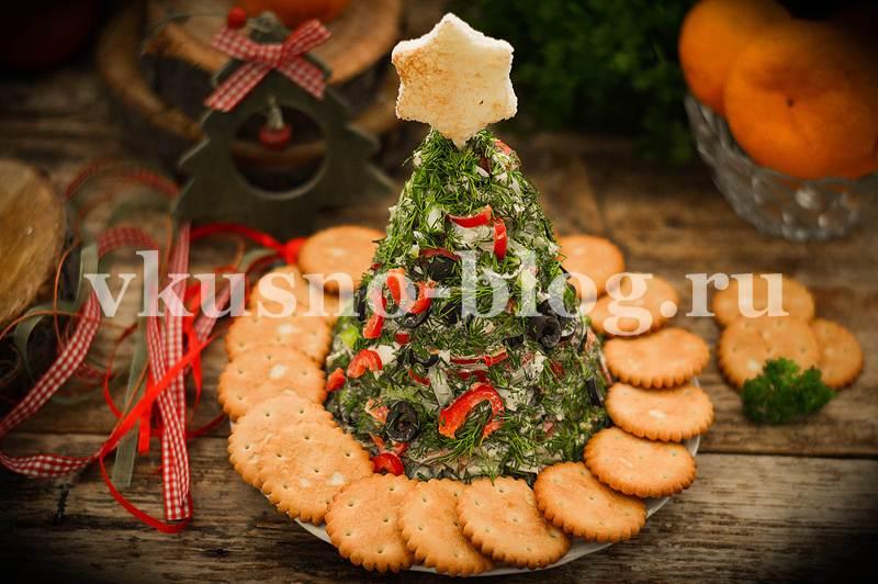 Новогодний салат Елочка пошаговый рецепт с фото