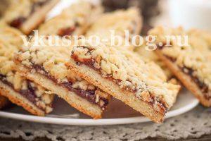 Венское печенье (тертое печенье с вареньем)
