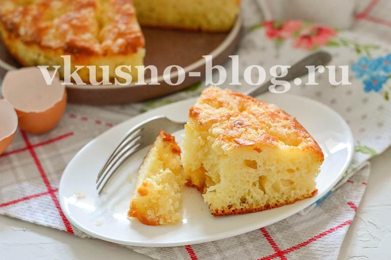 Сахарный пирог рецепт