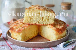 Сахарный пирог с пропиткой рецепт