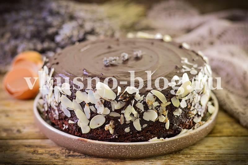 Самый простой шоколадный бисквит для торта