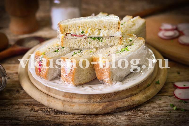 Сэндвич с яйцом рецепт фото