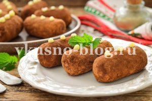 Пирожное картошка из сухарей