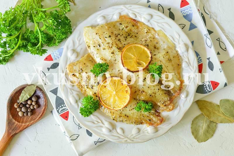 Филе тилапии в духовке рецепт