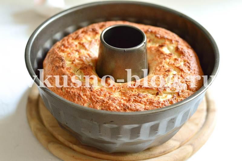 Кекс с кабачком сладкий