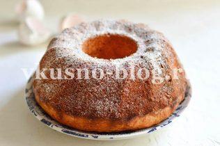 Пирог с кабачком сладкий